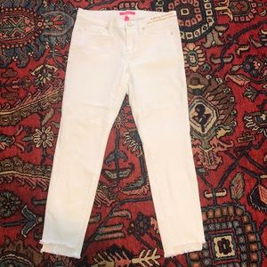 Lilly Pulitzer white jeans size 10